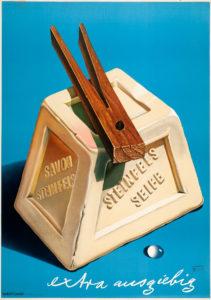 Steinfels Seife, 1943. Museum für Gestaltung, Plakatsammlung © by Collection HERBERT LEUPIN / www.herbert-leupin.ch