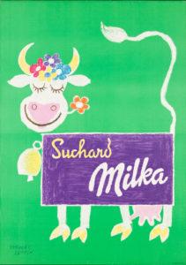 Suchard Milka, 1952. Museum für Gestaltung, Plakatsammlung © by Collection HERBERT LEUPIN / www.herbert-leupin.ch