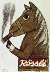 Rössli, 1954. Museum für Gestaltung, Plakatsammlung © by Collection HERBERT LEUPIN / www.herbert-leupin.ch