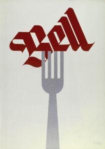 Bell, 1965. Museum für Gestaltung, Plakatsammlung © by Collection HERBERT LEUPIN / www.herbert-leupin.ch