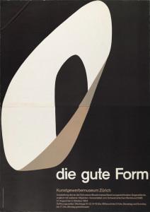 «Die gute Form»-Plakat