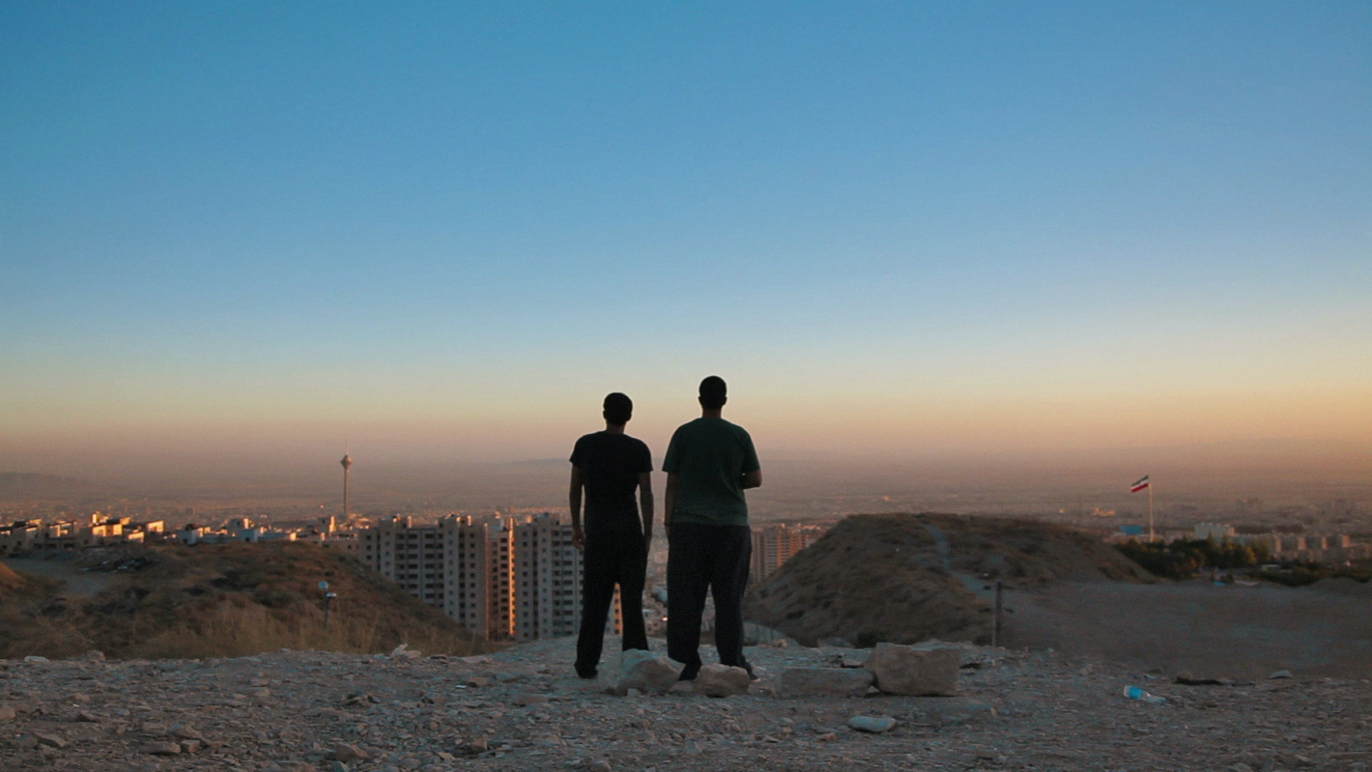 Filmstill aus «Raving Iran»