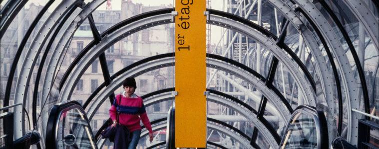 Visual Design Association, Hiestand, Widmer & Associés, Signaletik Centre Georges Pompidou, 1977, Museum für Gestaltung Zürich, Grafiksammlung